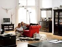 Príklad obývacej izby zariadenej