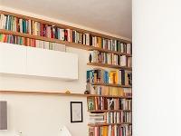 Oválne steny dodávajú bytu
