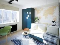 Multifunkčná nábytková stena tvorí