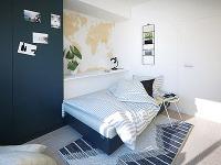 Výsuvná posteľ sa cez