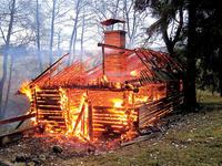 Účinky požiaru na drevené