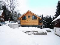 Horský dvojdom pre lyžiarov