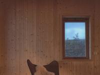 Netradičnú drevenicu v Nórsku