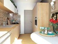 Miniatúrna paneláková kuchyňa: Ako