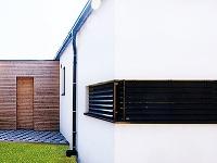 Drevený obklad na fasáde