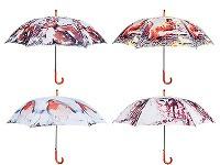 3x Dáždnik s lesným
