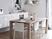 Jedálenský stôl zdubového masívu