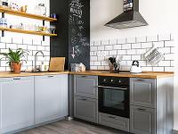 12 riešení pre horné skrinky na kuchynskej linke