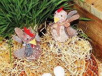 Vyrobte si spolu s deťmi veľkonočné sliepočky z vajíčok