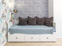 Šikovná posteľ zIkey slúži