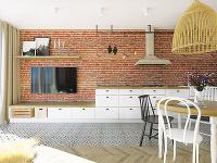 Tehlová stena zdobí najdlhšiu