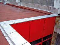 Plochá strecha s mechanicky