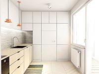Jednoduchá a funkčná kuchyňa