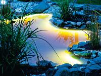 Jazierkové osvetlenie možno použiť