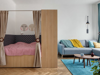 Starý byt v Prahe