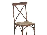 Bistro stolička Bromly, drevo,