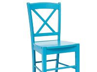 Modrá a červená stolička