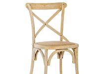 Sivohnedá stolička od značky