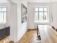 Rekonštrukcia historického bytu so zameraním na využitie jeho veľkorysosti a zachovanie pôvodných prvkov