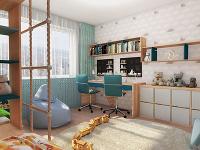 Ako upraviť menšiu panelákovú izbu na spoločný priestor pre troch bratov
