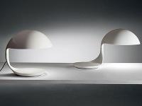 Nadčasový dizajn: Lampa prepojená s odkladacou miskou