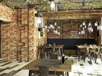 1. miesto: interiér reštaurácie,