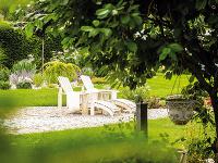 Rozľahlá záhrada ponúka domácim