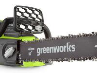 AKU reťazová píla Greenworks