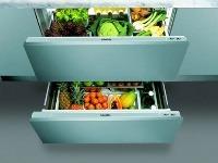 Vďaka vstavanej zásuvkovej chladničke