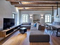 Súťaž Interiér roku: Moderne riešený interiér v starej chalupe po rekonštrukcii