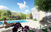 Oživenie záhrady s bazénom