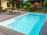 Keramické bazény Compact majú