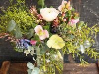 Jarná kytica obsahuje tie