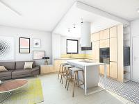 Kuchyňa je od obývačky