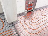 teplovodný podlahový systém