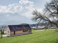 Drevostavba v rakúskej obci