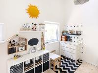 Detská izba má dvoch