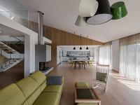 obývacia časť domu