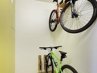 priestor na odkladanie bicyklov