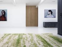 ručne tkaný koberec s