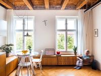 Dvojité drevené okná obnovili