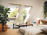 Strešný balkón VELUX Cabrio