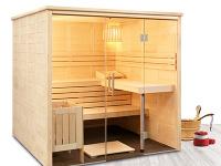 Dizajnová fínska sauna Freya