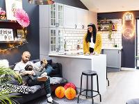Sedačka v kuchyni