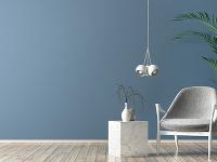 modrá farba s nádychom