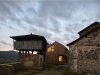 Fasáda domu Montaña je
