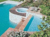 Exteriérový bazén, Résidences
