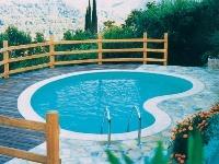 Exteriérový bazén