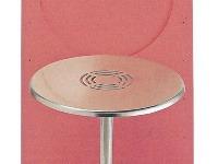 Stôl a stoličky zaberú