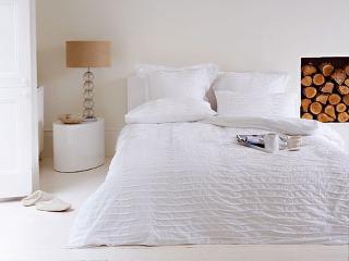 Biele textílie v kombinácii